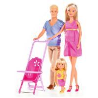 Лялька Simba Штеффи Счастливая Семья с аксессуарами Фото