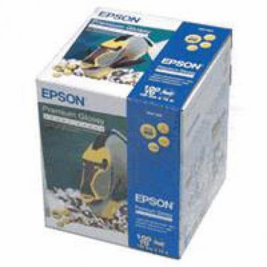 Бумага EPSON 10cм*10м Premium Glossy (S041303) - фото 1