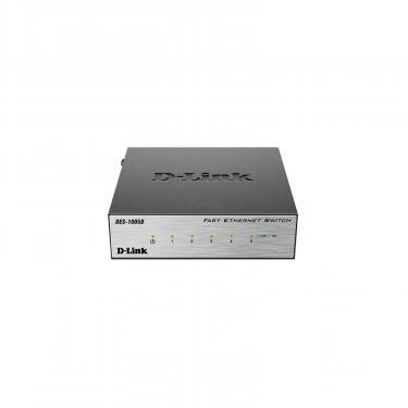 Комутатор мережевий D-Link DES-1005D - фото 1