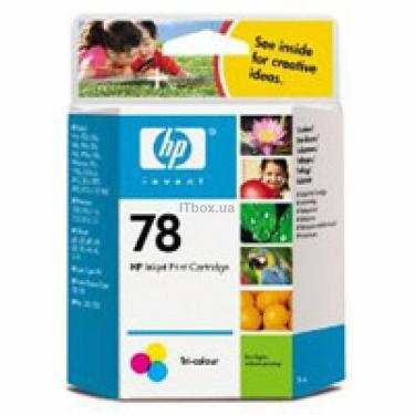 Картридж HP DJ No. 78 Color (C6578D) - фото 1