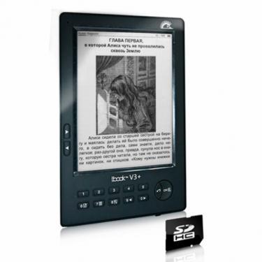 Электронная книга lBook eReader V3+ Black - фото 1