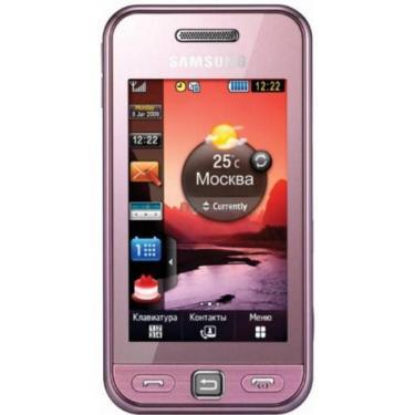 Мобільний телефон GT-S5230 (Star WiFi) Soft Pink Samsung (GT-S5230DIW WiFi) - фото 1