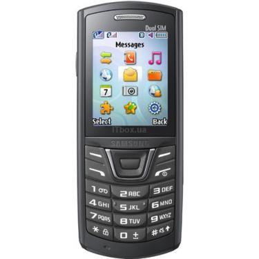 Мобільний телефон GT-E2152 (Duos) Black Samsung (GT-E2152ZKA) - фото 1