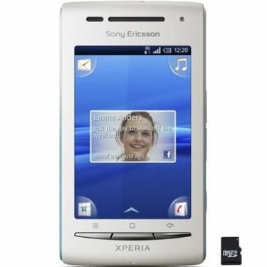 Мобільний телефон E15i White Dark Blue (XPERIA X8) SonyEricsson (1242-4876) - фото 1