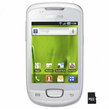 Мобильный телефон GT-S5570 (Galaxy Mini) Chick White Samsung (GT-S5570CWJ) - фото 1