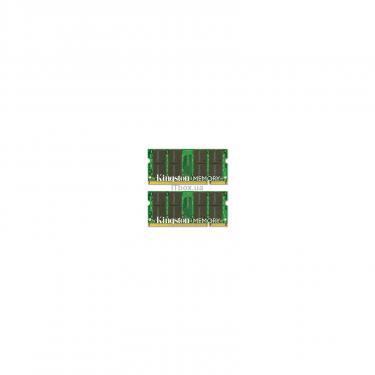Модуль памяти для ноутбука SoDIMM DDR2 4GB (2x2GB) 667 MHz Kingston (KTA-MB667K2/4G) - фото 1