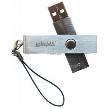 USB флеш накопитель Mini Metal TakeMS (TMS4GUMIM1R05) - фото 1