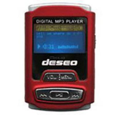 mp3 плеєр deseo red TakeMS (TMS4GMP3-DESEO-R) - фото 1