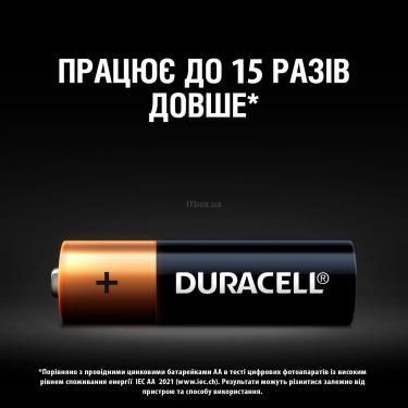 Батарейка Duracell AA MN1500 LR06 * 2 (5000394058163 / 81551267) - фото 4