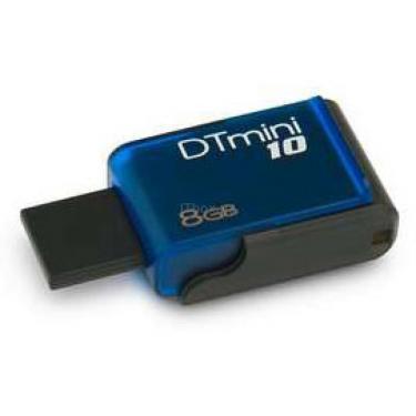 USB флеш накопитель DataTraveler mini10 Kingston (DTM10/8GB) - фото 1