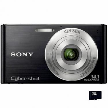 Цифровий фотоапарат Cybershot DSC-W320 black SONY (DSC-W320B) - фото 1