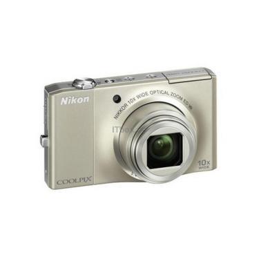 Цифровой фотоаппарат Coolpix S8000 silver Nikon (VMA510E1) - фото 1
