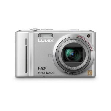 Цифровой фотоаппарат Lumix DMC-TZ10 silver PANASONIC (DMC-TZ10EE-S) - фото 1