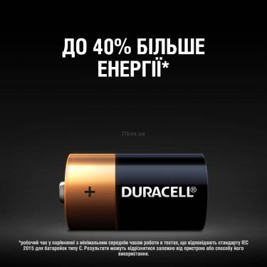 Батарейка Duracell C LR14 * 2 (5000394052529 / 81483545) - фото 4