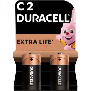 Батарейка Duracell C LR14 * 2 (5000394052529 / 81483545) - фото 1
