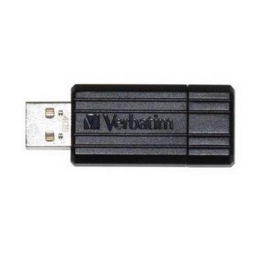 USB флеш накопичувач 4Gb Store'n'Go PinStripe black Verbatim (49061) - фото 1