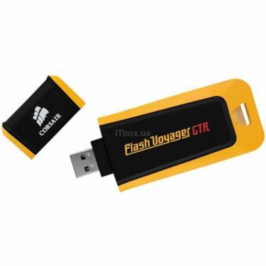 USB флеш накопичувач Flash Voyager GTR CORSAIR (CMFVYA64GBGT2) - фото 1