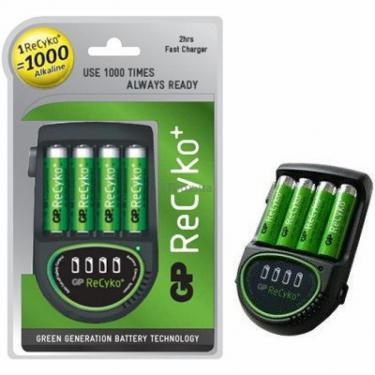 Зарядное устройство для аккумуляторов ReCyko+ AR05 + 4х2100АА ReCyko+ GP (AR05) - фото 1