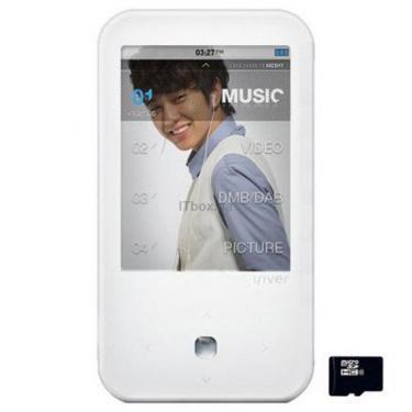 mp3 плеєр iRiver S100 8GB White (3S01004C-RUWEN1) - фото 1