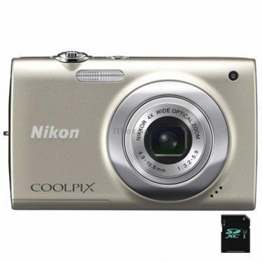 Цифровой фотоаппарат Nikon Coolpix S2500 silver Фото