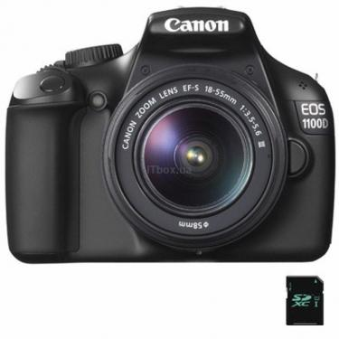 Цифровой фотоаппарат EOS 1100D 18-55 IS lens kit Canon (# 1100D 18-55 #) - фото 1