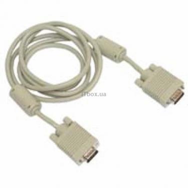 Кабель мультимедійний VGA 10.0m Cablexpert (CC-PPVGA-10M) - фото 1