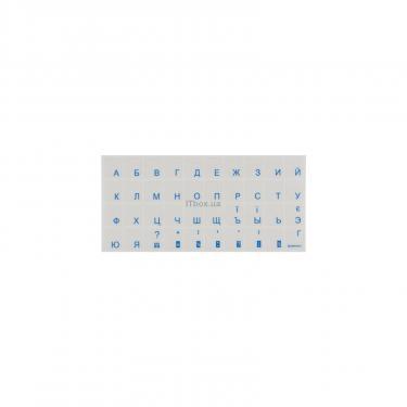 Наклейка на клавіатуру BRAIN blue (STBRTRBLUE) - фото 1