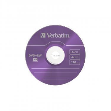 Диск DVD Verbatim 4.7Gb 4x SlimCase 5шт Color (43297) - фото 3