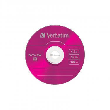 Диск DVD Verbatim 4.7Gb 4x SlimCase 5шт Color (43297) - фото 4