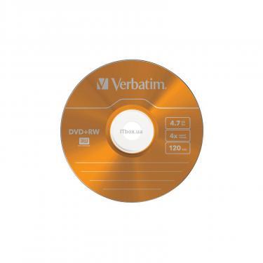 Диск DVD Verbatim 4.7Gb 4x SlimCase 5шт Color (43297) - фото 5