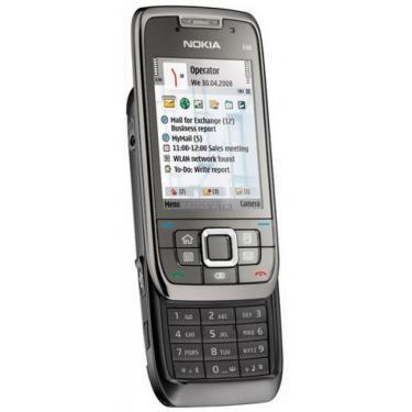 Мобильный телефон E66 grey steel Nokia (002F9Q5) - фото 1