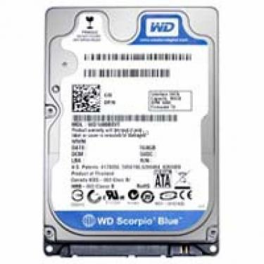 "Жорсткий диск для ноутбука 2.5"" 160GB Western Digital (WD1600BPVT / WD1600BEVT) - фото 1"