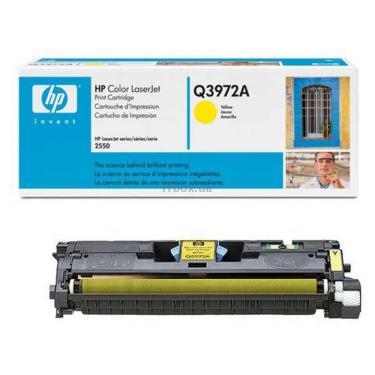 Картридж HP CLJ  123A для 2550 (2K) yellow (Q3972A) - фото 1
