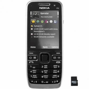 Мобільний телефон E52 Black Aluminium Nokia (002R431) - фото 1