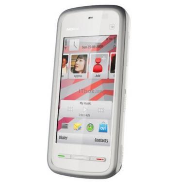 Мобильный телефон 5230 White Red Nokia - фото 1