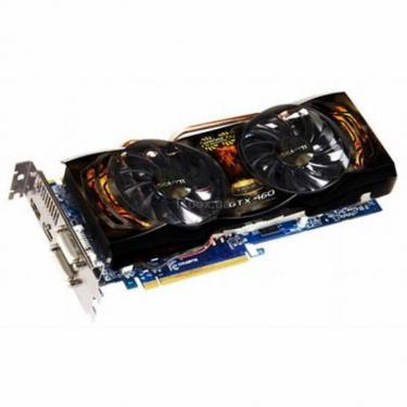 Видеокарта GeForce GTX460 1024Mb Super OverClo GIGABYTE (GV-N460SO-1GI) - фото 1