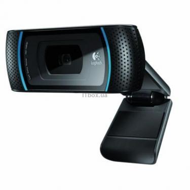 Веб-камера Logitech Webcam B910 HD (960-000684) - фото 1