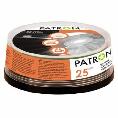 Диск CD PATRON 700Mb 52x Cake box 25шт (INS-C005) - фото 1