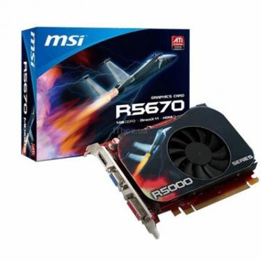 Відеокарта Radeon HD 5670 1024Mb MSI (R5670-MD1GD3) - фото 1