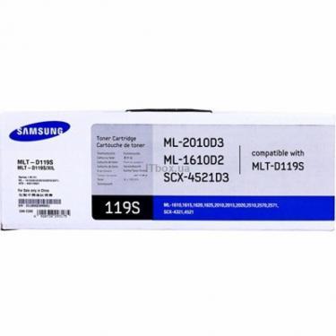 Картридж Samsung ML-1610/1615/2010/2510/2570, SCX-4321/4521 (MLT-D119S) - фото 1