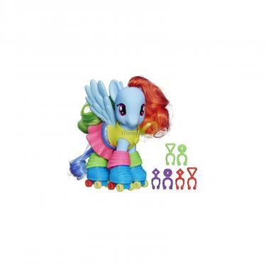 Игровой набор Hasbro Модные пони с аксессуарами, Радуга Дэш Фото 1
