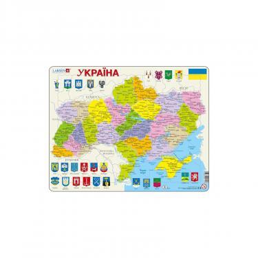 Пазл Larsen Карта Украины - политическая Фото