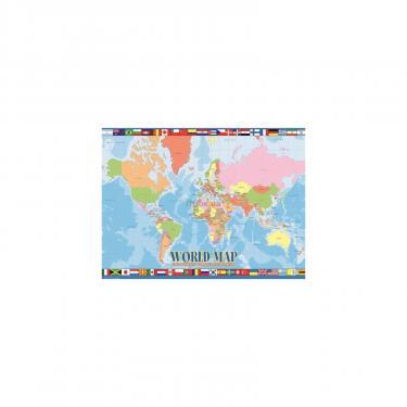 Пазл Eurographics Карта Мира для детей 100 элементов Фото 1