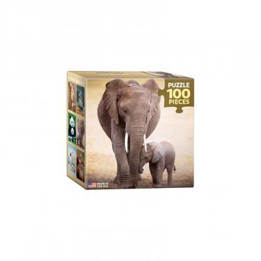Пазл Eurographics Слониха и слоненок 100 элементов Фото