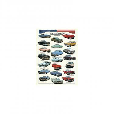 Пазл Eurographics Американские автомобили 1950-ых 300 элементов Фото 1