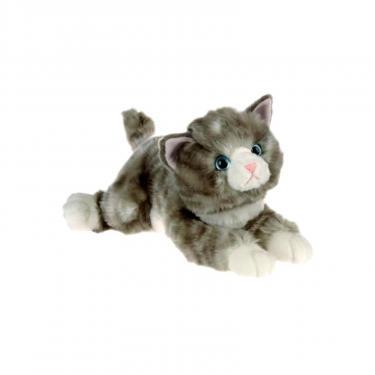 Мягкая игрушка Aurora Кошка серая 30 см Фото