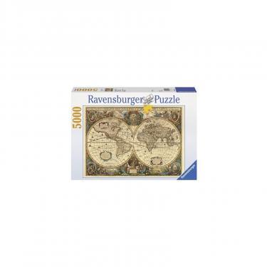 Пазл Ravensburger Древняя карта Мира 5000 элементов Фото