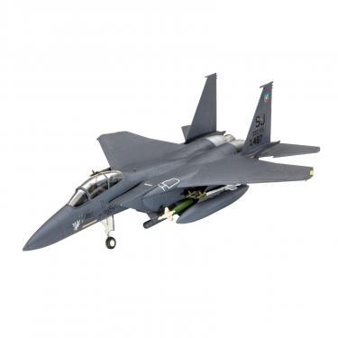 Сборная модель Revell Истребитель F-15E STRIKE EAGLE & bombs 1:144 Фото 1