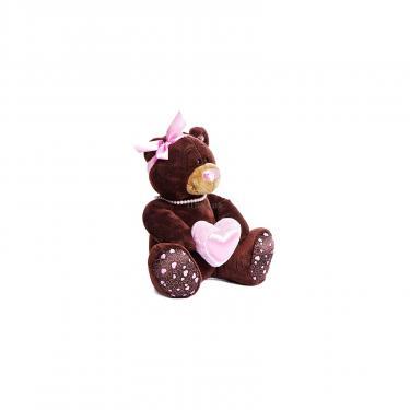 Мягкая игрушка Orange Мишка Milk с сердцем сидячий 25 см Фото 1