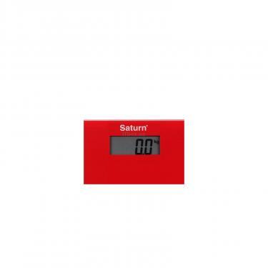 Весы напольные SATURN ST-PS0294 Red - фото 2